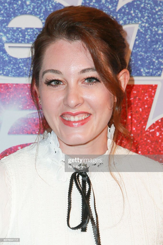 Mandy Harvey attends NBC's 'America's Got Talent' Season 12 Live Show at Dolby Theatre on August 22, 2017 in Hollywood, California.