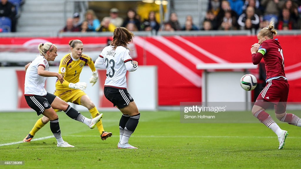 Germany v Russia  - UEFA Women's Euro 2017 Qualifier