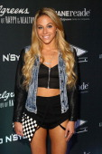 Mandy Jiroux attends the Go N'Syde 40/40 Bottle Launch Party at the 40 / 40 Club on June 12 2014 in New York City
