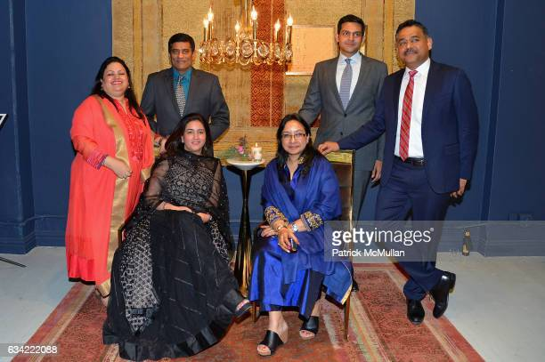 <Mandy Khera Vimal Kumar Angelique O'Brien Anu Gupta Rudra Chatterjee and Gaurav Sharma attend the ABC Carpet Home and Obeetee Celebrate the Launch...