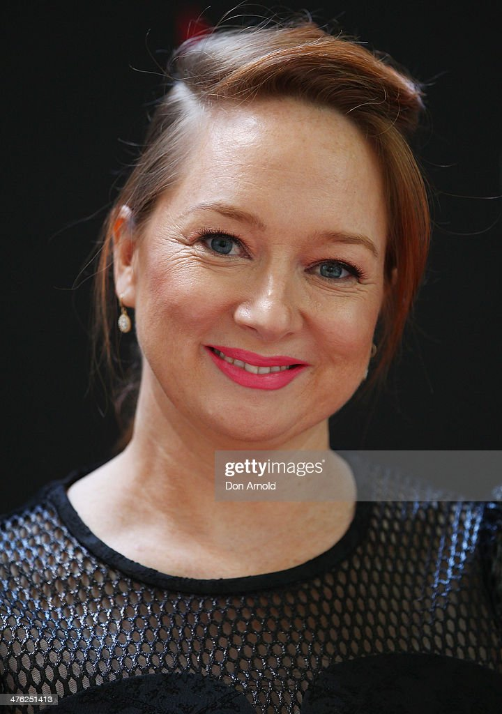 Mandy McElhinney attends the 86th Academy Awards Charity Event at the Hilton Hotel on March 3, 2014 in Sydney, Australia.