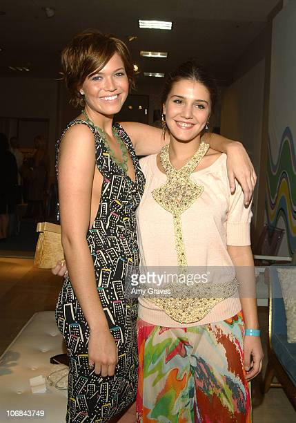 Mandy Moore and Margherita Missoni during Missoni Spring 2005 and Retrospective Fashion Show with Neiman Marcus and InStyle at Neiman Marcus in...