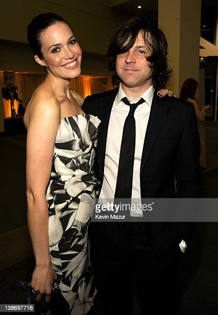 Mandy Moore and Ryan Adams attend The 2012 MusiCares Person Of The Year Gala Honoring Paul McCartney at Los Angeles Convention Center on February 10...