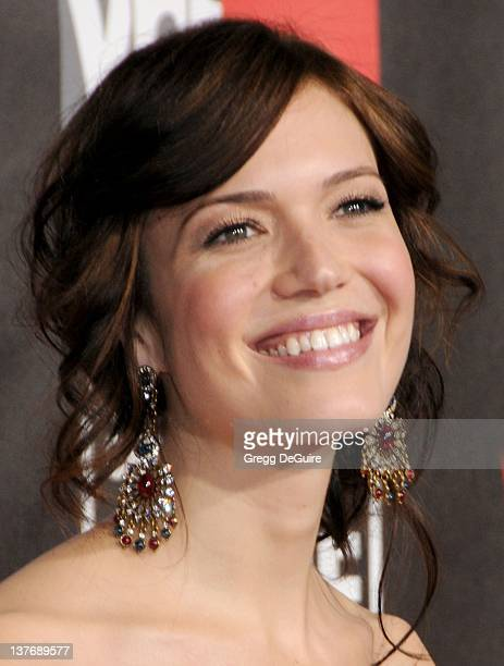 Mandy Moore arrives at The 16th Annual Critics' Choice Movie Awards at the Hollywood Palladium on January 14 2011 in Hollywood California