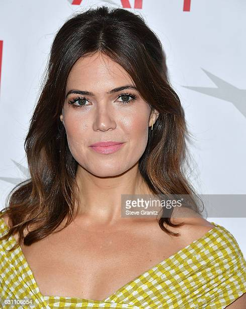 Mandy Moore arrives at the 17th Annual AFI Awards at Four Seasons Hotel Los Angeles at Beverly Hills on January 6 2017 in Los Angeles California