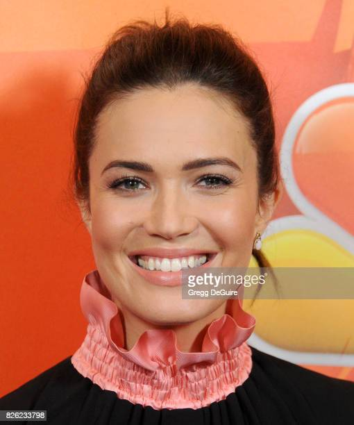 Mandy Moore arrives at the 2017 Summer TCA Tour NBC Press Tour at The Beverly Hilton Hotel on August 3 2017 in Beverly Hills California