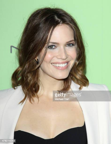 Mandy Moore arrives at the 7th Annual Women In Film PreOscar cocktail party held at Fig Olive Melrose Place on February 28 2014 in West Hollywood...