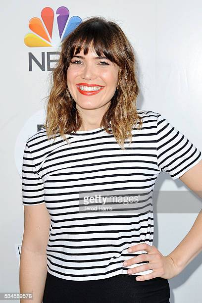 Mandy Moore arrives at the Red Nose Day Special on NBC at Alfred Hitchcock Theater at Universal Studios on May 26 2016 in Universal City California