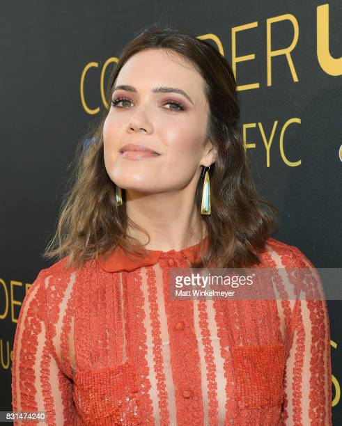 Mandy Moore attends FYC Panel Event for 20th Century Fox and NBC's 'This Is Us' at Paramount Studios on August 14 2017 in Hollywood California
