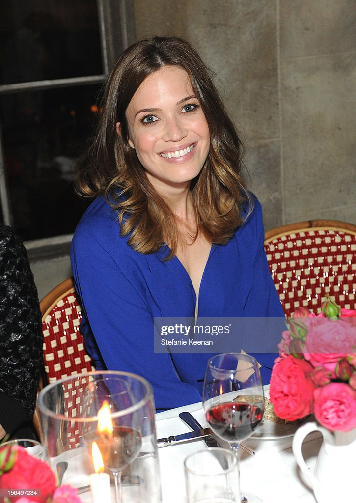 Mandy Moore attends Juan Carlos Obando Jewelry Collection Launch Dinner at Chateau Marmont on November 15, 2012 in Los Angeles, California.
