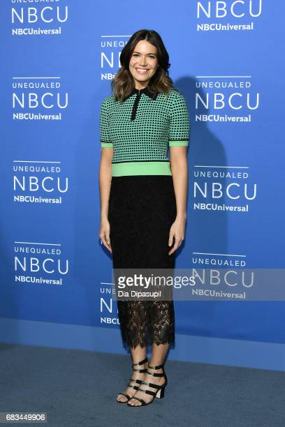 Mandy Moore attends the 2017 NBCUniversal Upfront at Radio City Music Hall on May 15 2017 in New York City