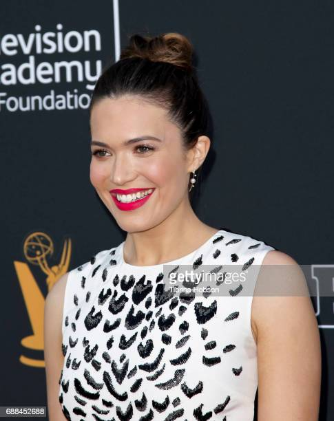 Mandy Moore attends the 38th College Television Awards at Wolf Theatre on May 24 2017 in North Hollywood California