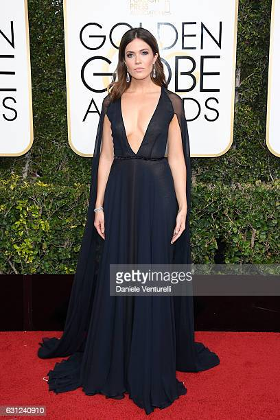 Mandy Moore attends the 74th Annual Golden Globe Awards at The Beverly Hilton Hotel on January 8 2017 in Beverly Hills California