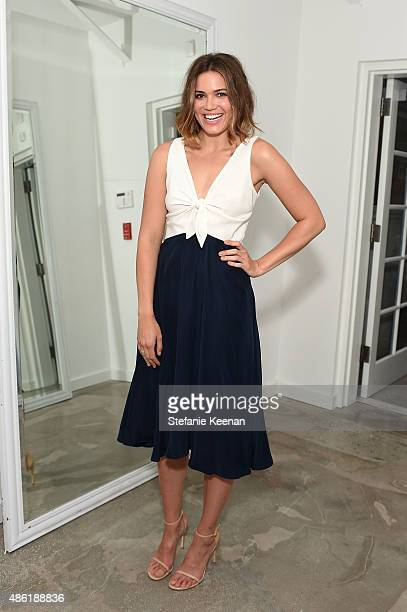 Mandy Moore attends The A List 15th Anniversary Party on September 1 2015 in Beverly Hills California