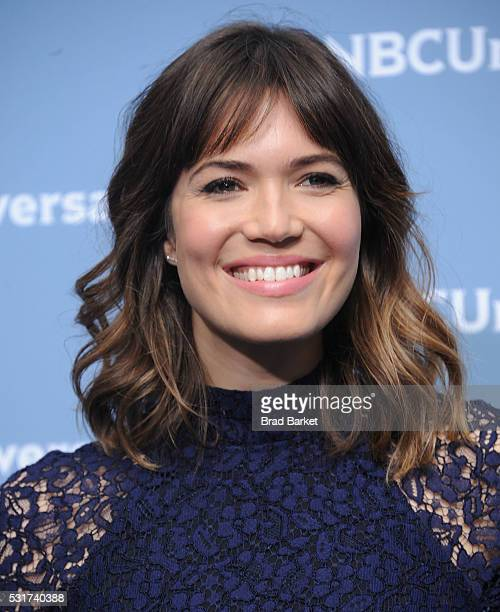 Mandy Moore attends the NBCUniversal 2016 Upfront Presentation on May 16 2016 in New York City