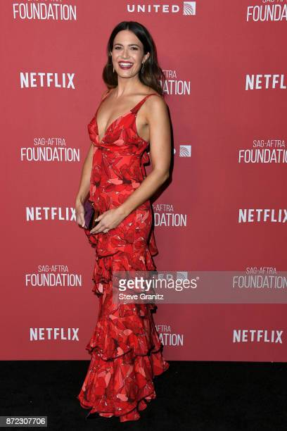 Mandy Moore attends the SAGAFTRA Foundation Patron of the Artists Awards 2017 at the Wallis Annenberg Center for the Performing Arts on November 9...