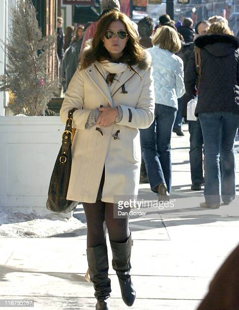Mandy Moore during 2007 Park City Seen Around Town Day 4 at Streets of Park City in Park City Utah United States