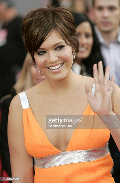Mandy Moore during 32nd Annual American Music Awards Arrivals at Shrine Auditorium in Los Angeles California United States
