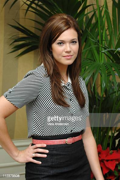 Mandy Moore during 'Because I Said So' Press Conference with Diane Keaton Mandy Moore Lauren Graham and Gabriel Macht at Four Season Beverly Hills in...