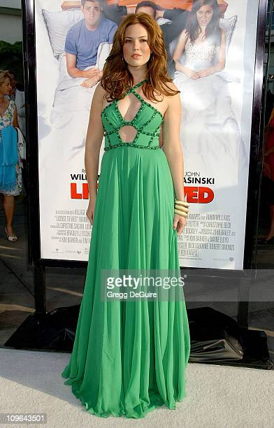 Mandy Moore during 'License To Wed' Los Angeles Premiere Arrivals at Cinerama Dome in Hollywood California United States