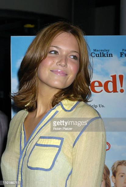 Mandy Moore during Opening Night Feature of The 9th Annual Gen Art Film Festival 'Saved' Red Carpet at Loews Lincoln Square Cinemas in New York City...