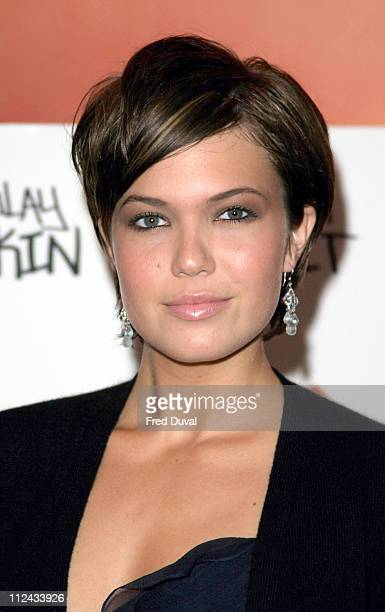 Mandy Moore during 'Saved' London Premiere Arrivals at Apollo Cinema Regents Street in London United Kingdom