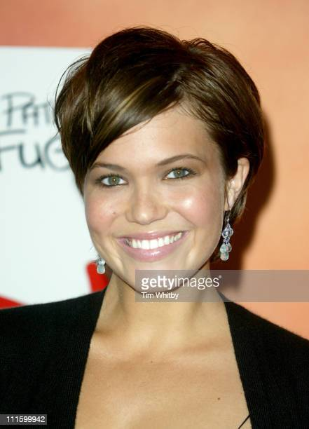 Mandy Moore during 'Saved' London Premiere at Apollo Cinema Regent's Street in London United Kingdom