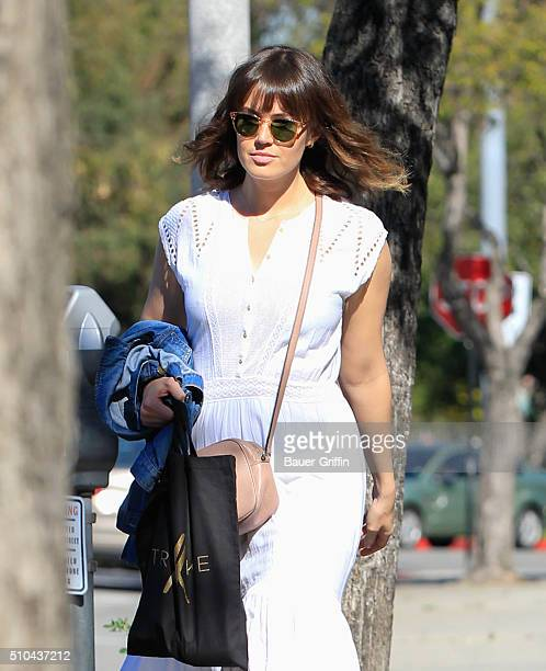 Mandy Moore is seen on February 15 2016 in Los Angeles California