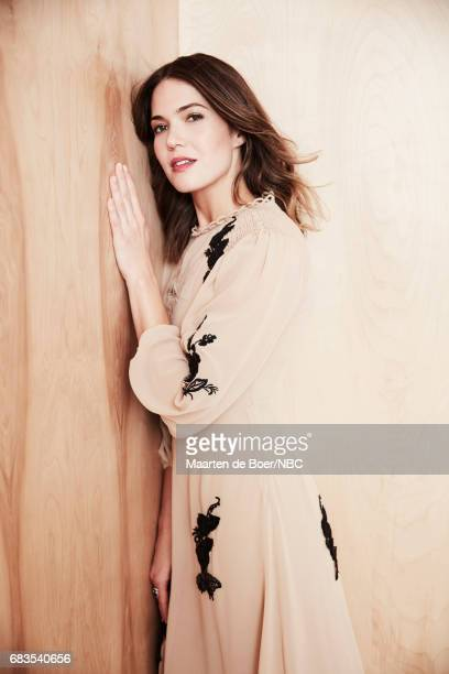 Mandy Moore of 'This is Us' poses for a photo during NBCUniversal Upfront Events Season 2017 Portraits Session at Ritz Carlton Hotel on May 15 2017...