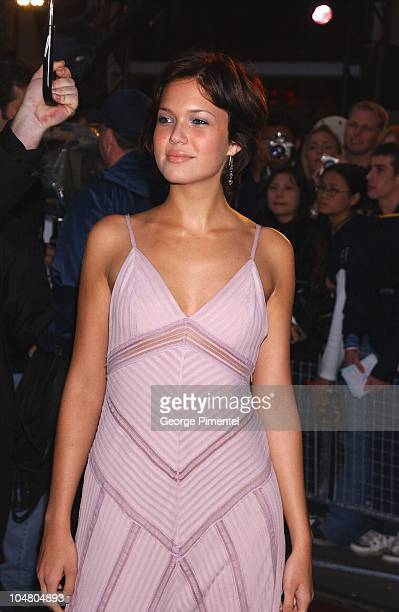 Mandy Moore on the red carpet at the MMV Awards during MuchMusic Video Awards 2002 Arrivals at Chum City Building in Toronto Ontario Canada