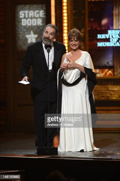 Mandy Patinkin and Patti LuPone perform onstage at the 66th Annual Tony Awards at The Beacon Theatre on June 10 2012 in New York City