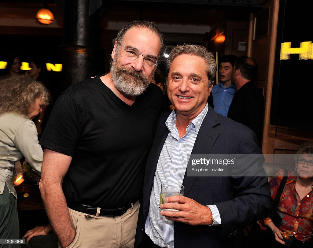 Mandy Patinkin and Rick Rosen attend a Private Reception And Screening Of Homeland Season 4 on September 4 2014 in New York City