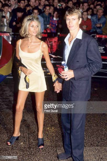 Mandy Smith during Mandy Smith At 'Assassins' Premiere October 1 1995 at Leicester Square in London Great Britain