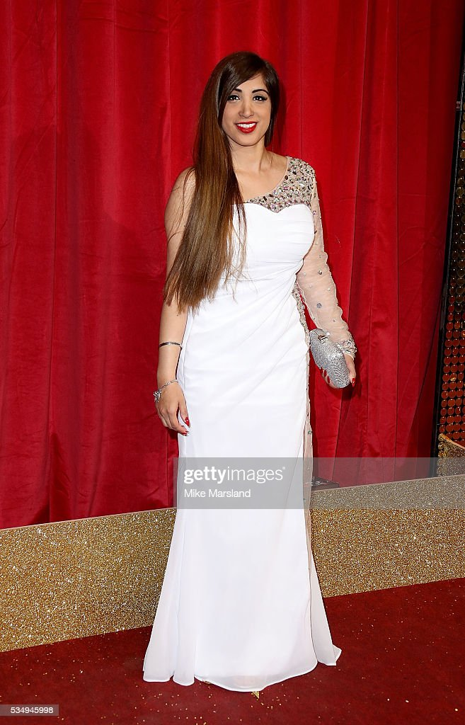 Mandy Thandi attends the British Soap Awards 2016 at Hackney Empire on May 28, 2016 in London, England.