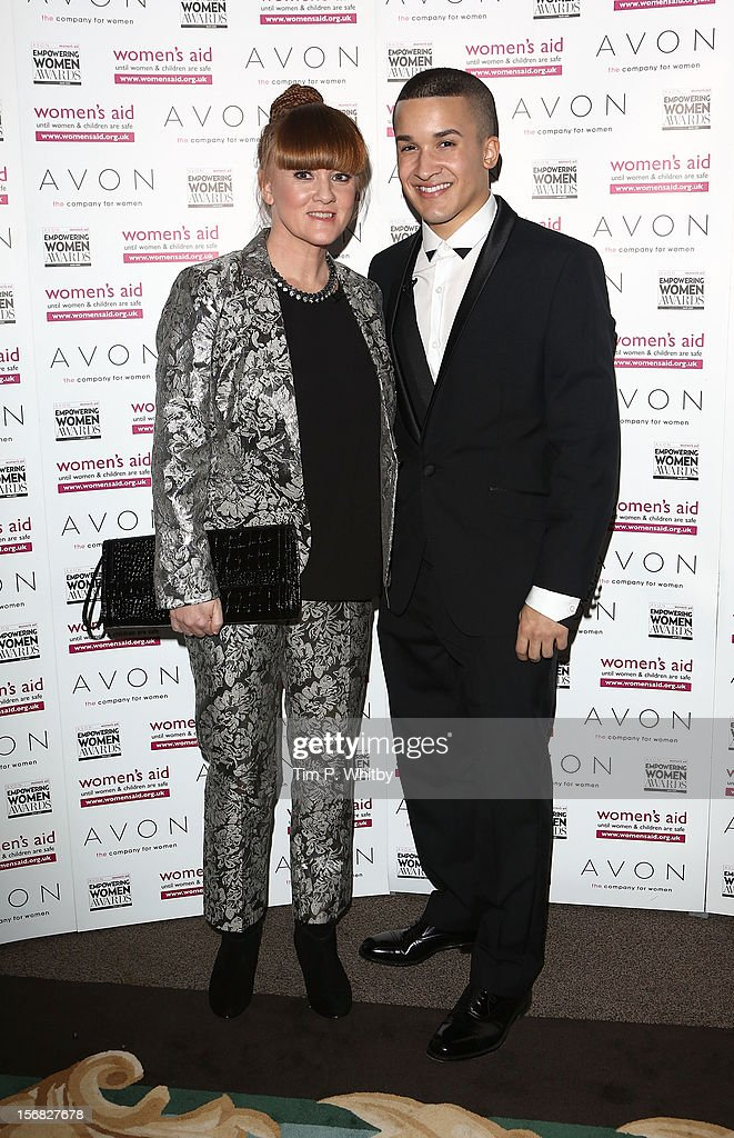 Mandy Thomas and Jahmene Douglas attend the star-studded 2012 Empowering Women Awards, hosted by Avon Cosmetics and national Charity Women's Aid at Claridge's Hotel on November 22, 2012 in London, England. The stars came together with this year's winners to celebrate the annual awards - which are designed to recognise the bravery and achievements of women survivors of domestic violence, and those who work tirelessly to support women and children affected by abuse.