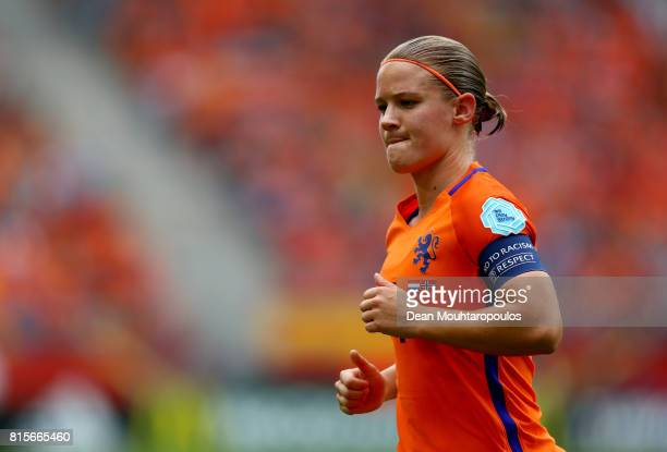 Mandy van den Berg of the Netherlands during the Group A match between Netherlands and Norway during the UEFA Women's Euro 2017 at Stadion...