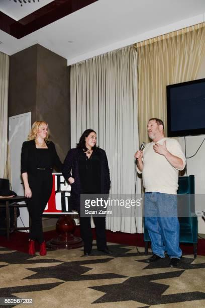 Mandy Ward Johanna Bennett and Harvey Weinstein attend First Time Fest Closing Night Awards and Tribute to Harvey Weinstein at Gansevoort Hotel Park...