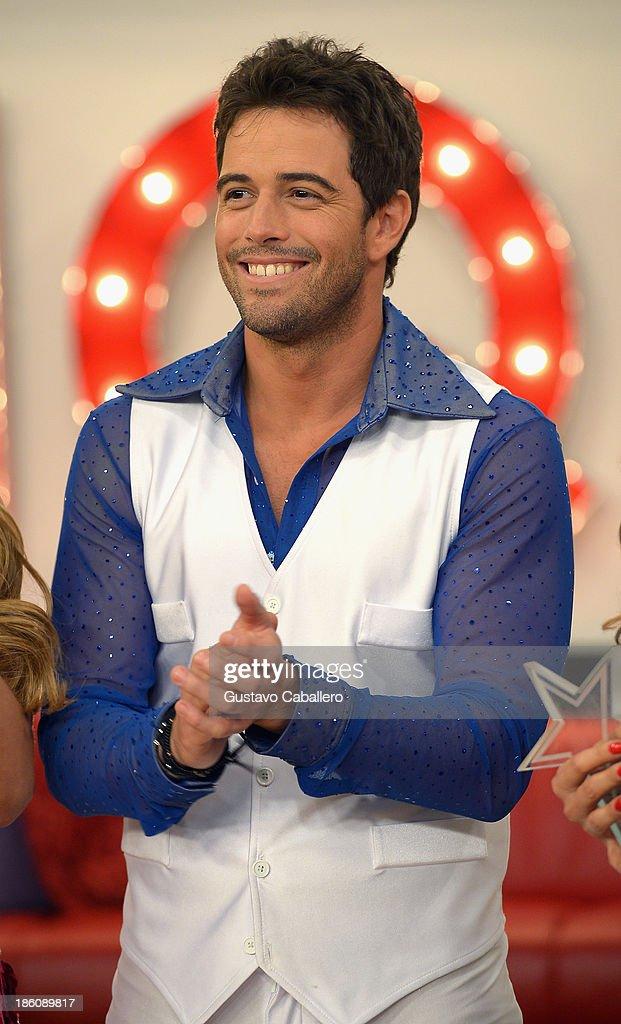 Mane de la Parra attends the set of 'Mira Quien Baila' at Univision Headquarters on October 27, 2013 in Miami, Florida.