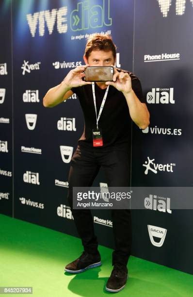 Manel Fuentes attends during the Vive Dial festival photocall on September 9 2017 in Madrid Spain