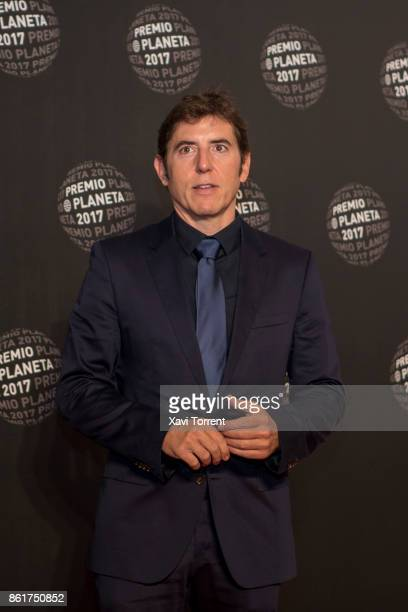 Manel Fuentes attends the 2017 Premio Planeta award on October 15 2017 in Barcelona Spain