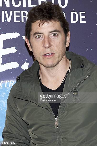Manel Fuentes attends the ET 35th anniversary concert at the Zarzuela Theater on December 28 2016 in Madrid Spain