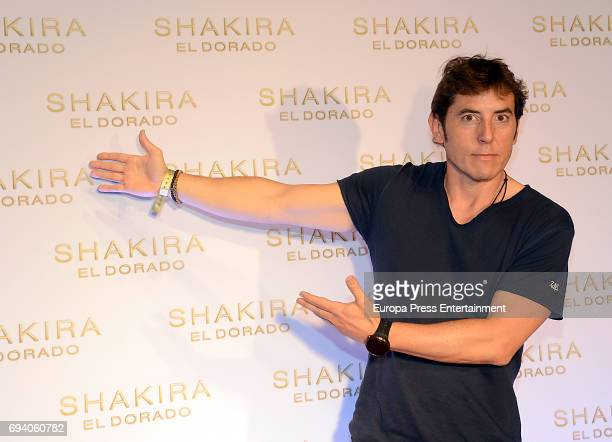 Manel Fuentes attends the photocall for the new Shakira album 'El Dorado' at the Convent of Angels on June 8 2017 in Barcelona Spain