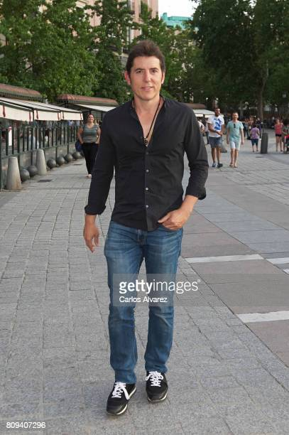 Manel Fuentes attends the Sting concert at the Royal Teather on July 5 2017 in Madrid Spain