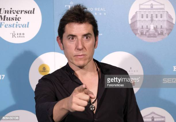 Manel Fuentes attends the Universal Music Festival Sting's concert at the Teatro Real on July 5 2017 in Madrid Spain