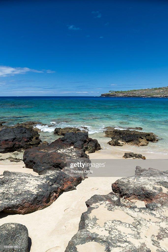 Manele Bay, Lanai : Stock Photo