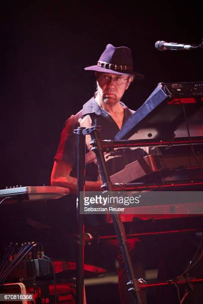 Manfred Mann of Manfred Mann's Earthband performs at Admiralspalast on April 20 2017 in Berlin Germany