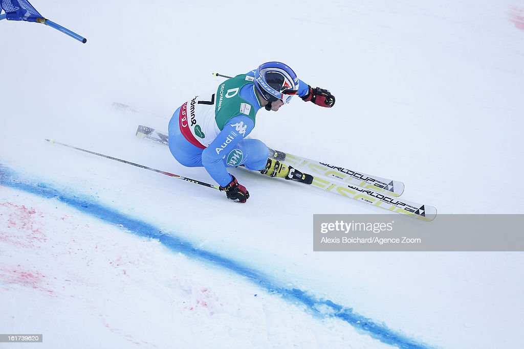 Manfred Moelgg of Italy competes during the Audi FIS Alpine Ski World Championships Men's Giant slalom on February 15, 2013 in Schladming, Austria.