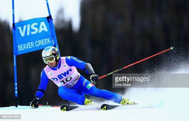 Manfred Moelgg of Italy competes in the second run of the Birds of Prey World Cup Giant Slalom race on December 3 2017 in Beaver Creek Colorado