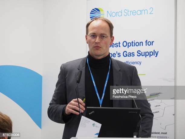 Manfred Russ Principal Consultant Energy and Oil Gas Thinkstep speaking at the United Nations Framework Convention on Climate Change UNFCCC COP23