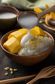 Khao Niew Ma Muang, Mango and sticky rice, Thai Dessert